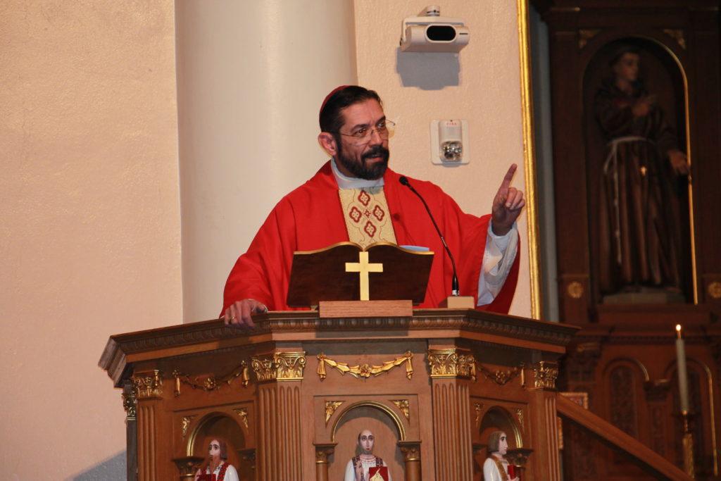 Bishop Flores of Brownsville, Texas, (CATHOLIC SUN)